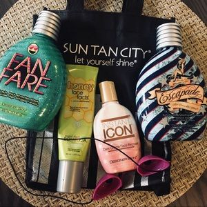 Tanning Lotions Bundle (Face & Body)